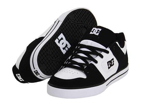 Adidasi DC - Pure - Black/White/White