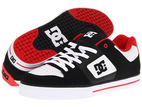 Adidasi DC - Pure - Black/White/Red