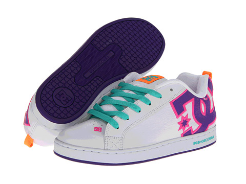 Adidasi DC - Court Graffik W - White/Multi
