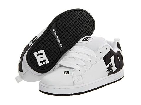 Adidasi DC - Court Graffik SE - White/Black/Dark Grey