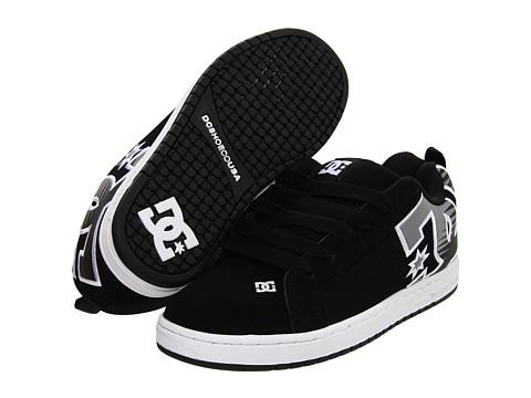 Adidasi DC - Court Graffik SE - Black/Grey