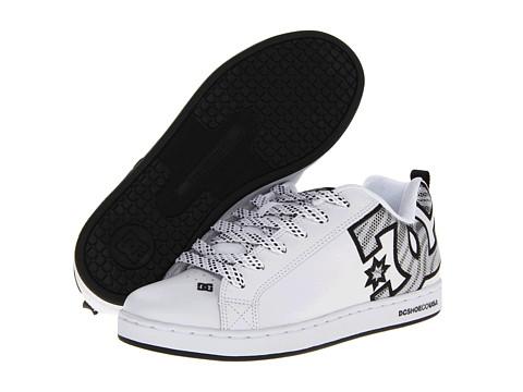 Adidasi DC - Court Graffik SE W - White/Silver Sparkle