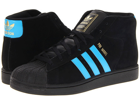 Adidasi Adidas Originals - Pro Model - Black/Turquoise/Metallic Gold