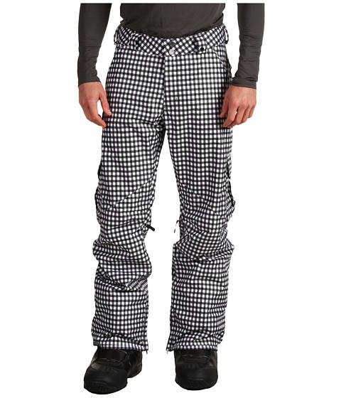 Pantaloni Burton - Cargo Snowboarding Pant - True Black Wrinkled Gingham
