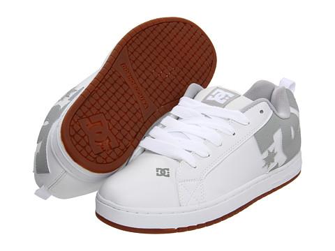 Adidasi DC - Court Graffik - White/Grey