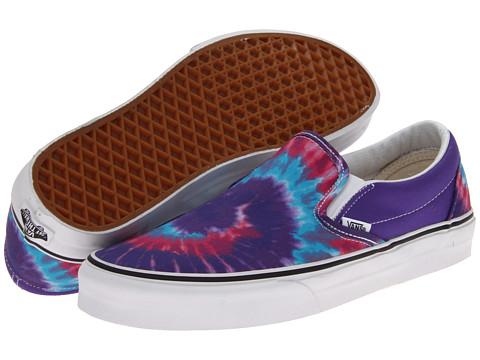Adidasi Vans - Classic Slip-Onâ⢠- (Tie Dye) Pink/Purple