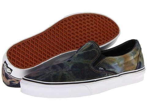 Adidasi Vans - Classic Slip-Onâ⢠- (Tie Dye) Rust