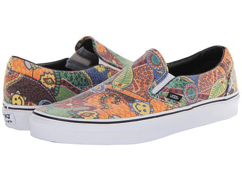 """Adidasi Vans - Classic Slip-Onâ""""¢ - (Van Doren) Multi/Aborigine"""