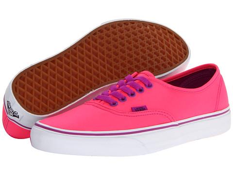 Adidasi Vans - Authenticâ⢠- (Neon) Pink/Purple