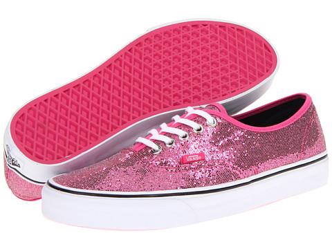 "Adidasi Vans - Authenticâ""¢ - (Glitter) Pink/Micro Dots"
