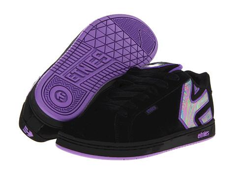 Adidasi etnies - Fader W - Black/Black