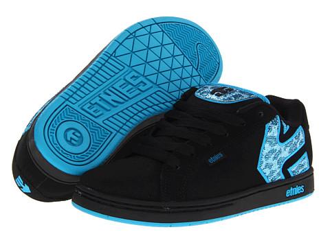 Adidasi etnies - Fader W - Black/White/Turquoise