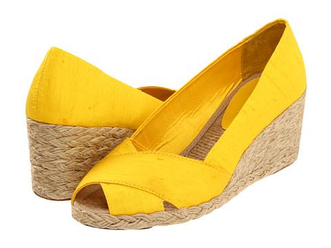 Pantofi LAUREN Ralph Lauren - Cecilia - Sunflower Shantung