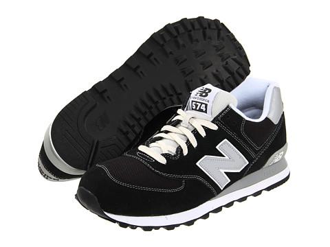 Adidasi New Balance - M574 - Black/Silver/Suede/Mesh