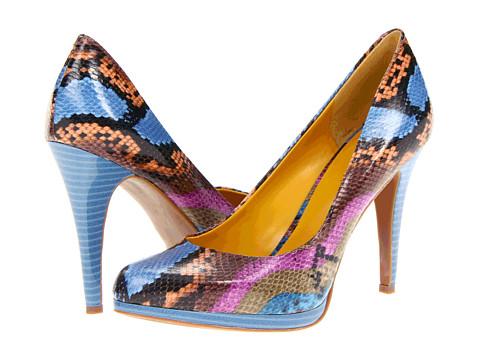 Pantofi Nine West - Rocha - Blue Multi Synthetic