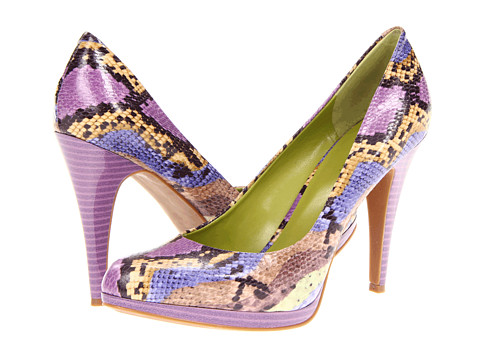 Pantofi Nine West - Rocha - Purple Combo Synthetic