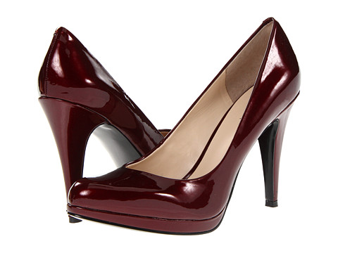 Pantofi Nine West - Rocha - Red Patent Synthetic