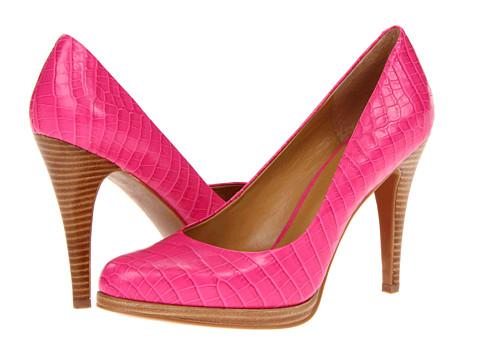 Pantofi Nine West - Rocha - Pink Croc