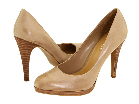 Pantofi Nine West - Rocha - Taupe Leather