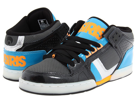 Adidasi Osiris - NYC83 Mid - Black/Charcoal/Blue
