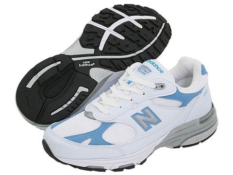 Adidasi New Balance - WR993 - White/Blue