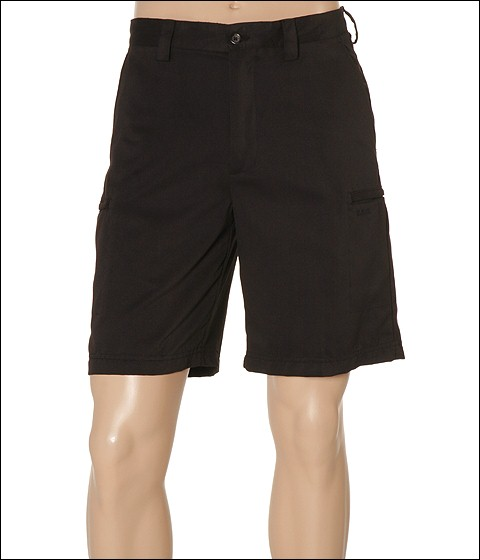 Pantaloni IZOD - Microsanded Zip Cargo Short - Black