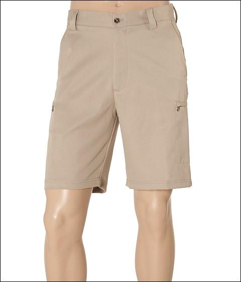 Pantaloni IZOD - Microsanded Zip Cargo Short - R. Khaki