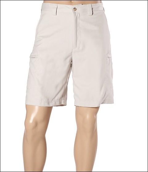 Pantaloni IZOD - Microsanded Zip Cargo Short - Stonedust
