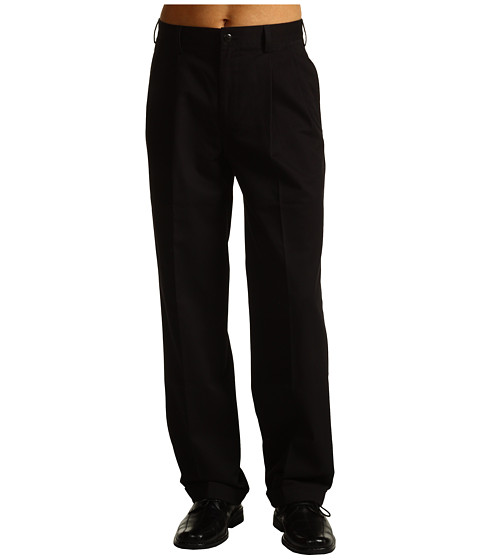Pantaloni IZOD - Wrinkle Free American Chino Double Pleat - Black