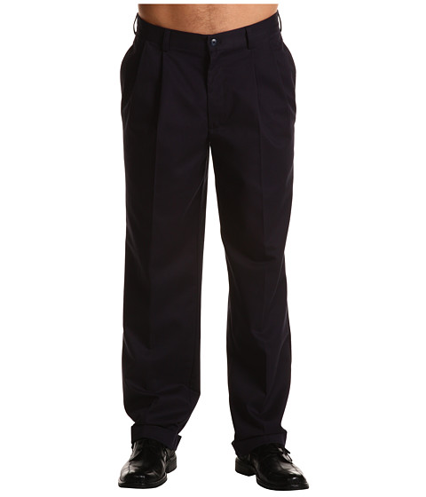 Pantaloni IZOD - Wrinkle Free American Chino Double Pleat - Navy