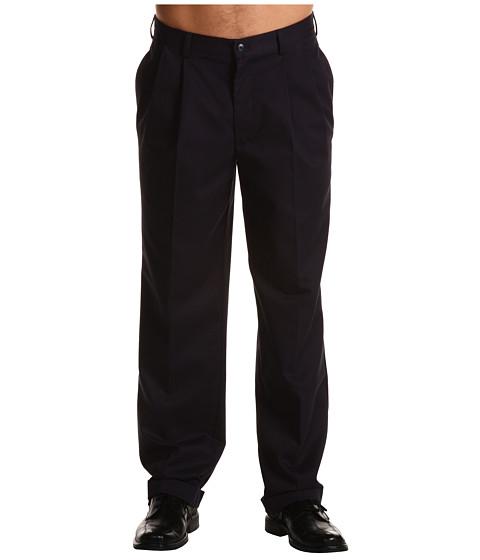 Pantaloni IZOD - Wrinkle Free American Chino Double Pleat - Navy