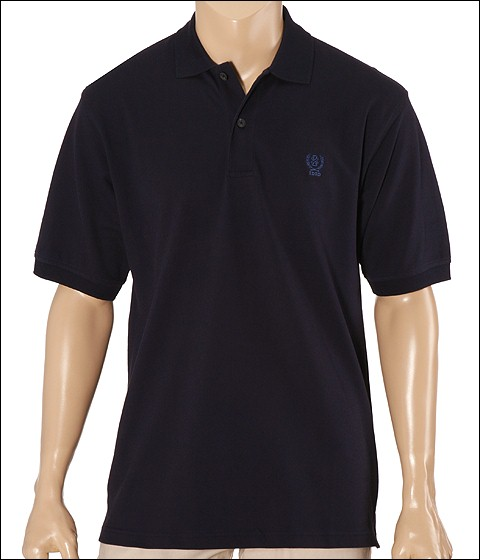 Tricouri IZOD - Solid Crested Pique - Midnight