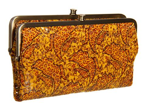 Genti de mana Hobo - Lauren - Autumn Paisley Vintage Leather