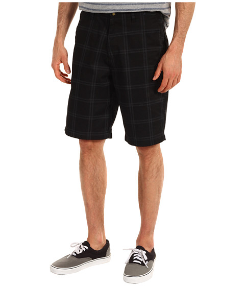 Pantaloni Volcom - Frickin Plaid Short - Black