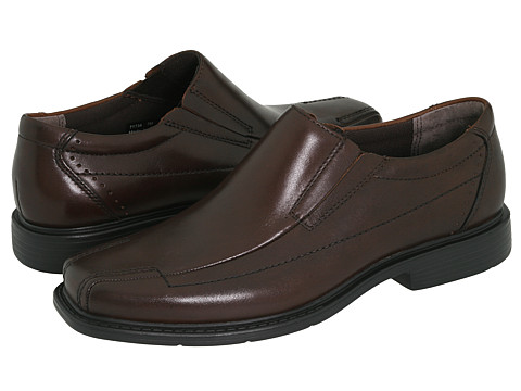 Pantofi Clarks - Deane - Brown Leather