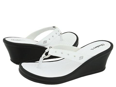 Sandale SKECHERS - Rumblers - Kitty - White