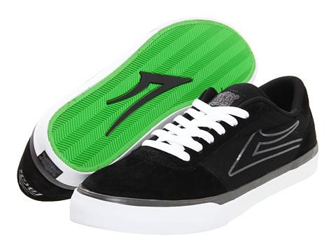 Adidasi Lakai - Manchester Select - Black/Silver Suede