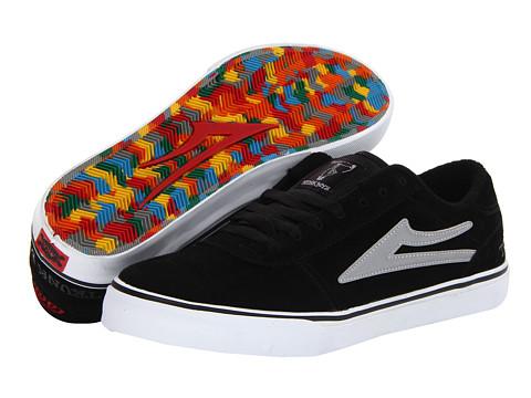 Adidasi Lakai - Manchester Select - Black/Grey Suede/Trunk Boys