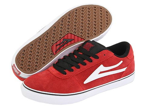 Adidasi Lakai - Manchester Select - Red Suede