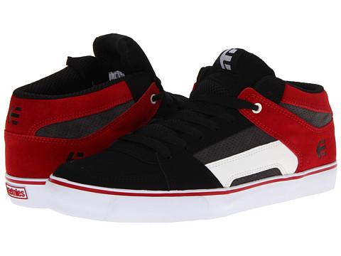 Adidasi etnies - RVM - Black/Red/Grey