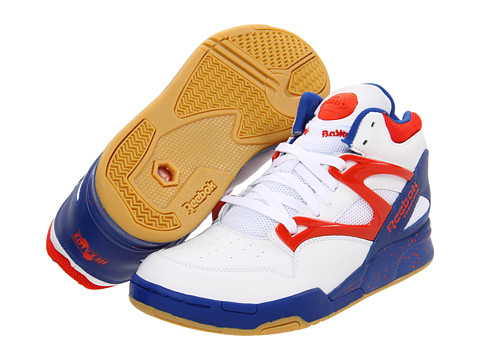 Adidasi Reebok - Pump Omni Lite - White/Reebok Royal/Orange