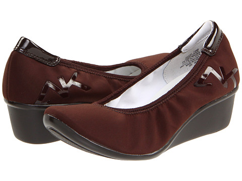 Pantofi Anne Klein - Dax - Dark Brown Fabric