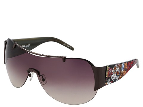 Ochelari Ed Hardy - Japan - Gunmetal/Burgundy Gradient Polarized Lens