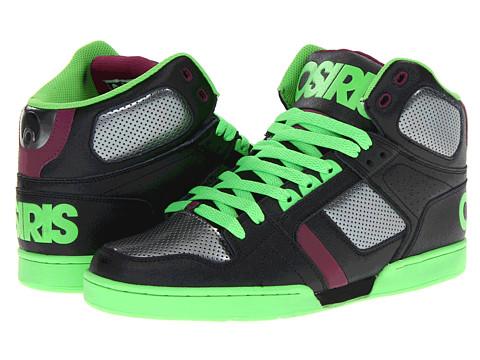 Adidasi Osiris - NYC83 - Black/Green/Plum