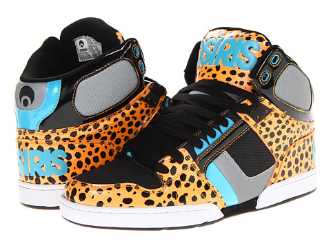 Adidasi Osiris - NYC83 - Orange/Black/Cyan