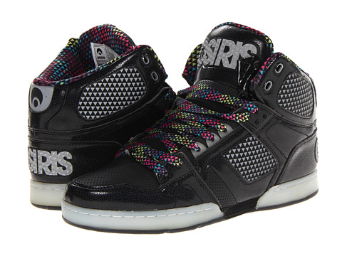 Adidasi Osiris - NYC83 - Black/Silver/Triangle