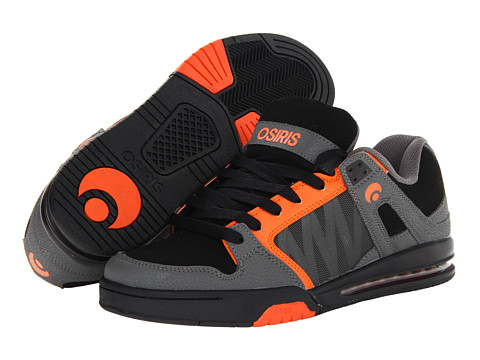 Adidasi Osiris - Pixel - Charcoal/Black/Orange