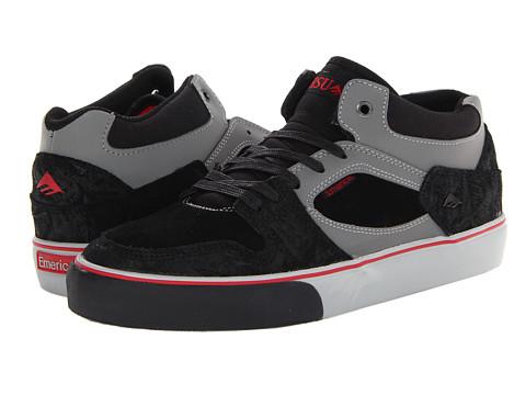 Adidasi Emerica - HSU - Black/Red/Grey