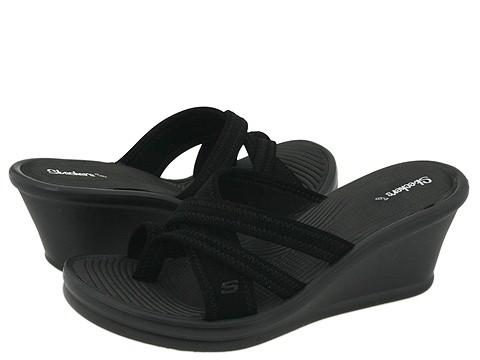 Sandale SKECHERS - Rumblers - Beautiful People - Black