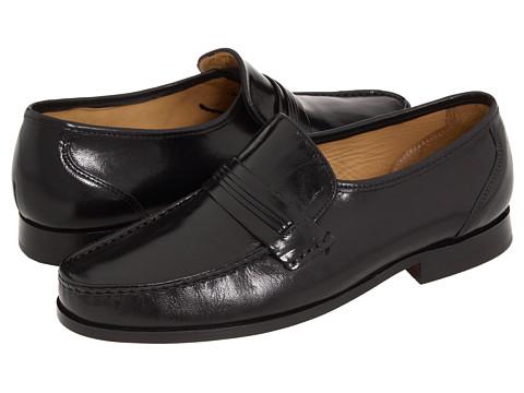 Pantofi Bostonian - Clinton - Black Kidskin
